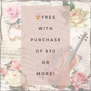 💝🆓One Free Item with Purchase of $30 or More!